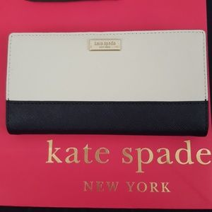 NWT Kate Spade Stacey Wallet